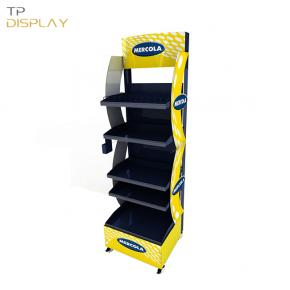 TP-FL008 new arrival metal shelf rack display for pharmacy
