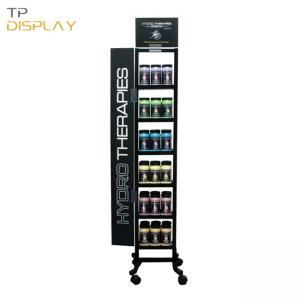 TP-FL016 metal display stand for retail shop - 副本