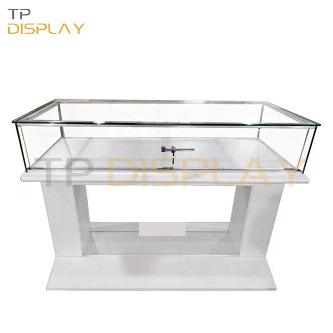 TP-SP020 Custom boutique store glass show case lockable glasses display showcase