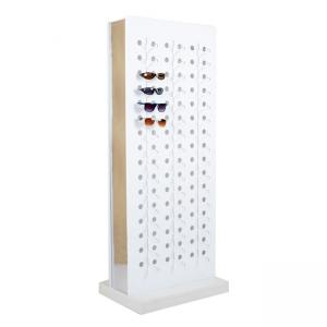 TP-CL017 Luxury store wood material eyewear display rack