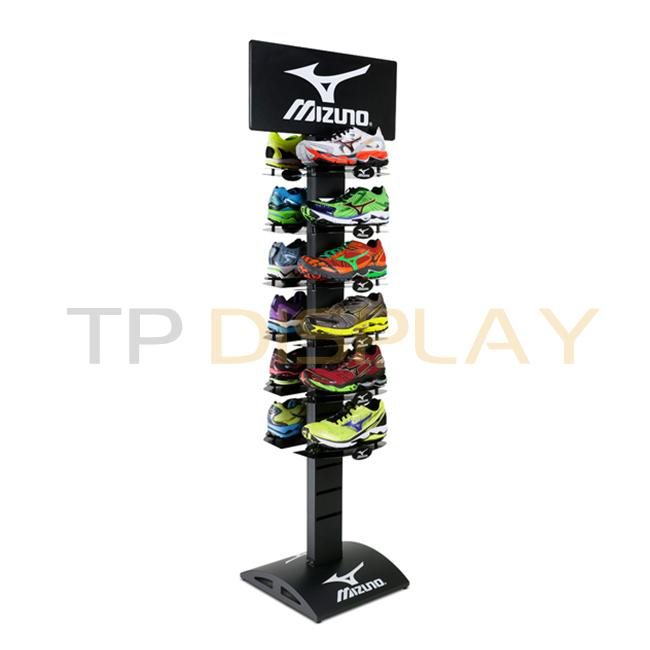 TP-CL018 Floor Standing Retail Shop Shoe Display Ideas - 副本