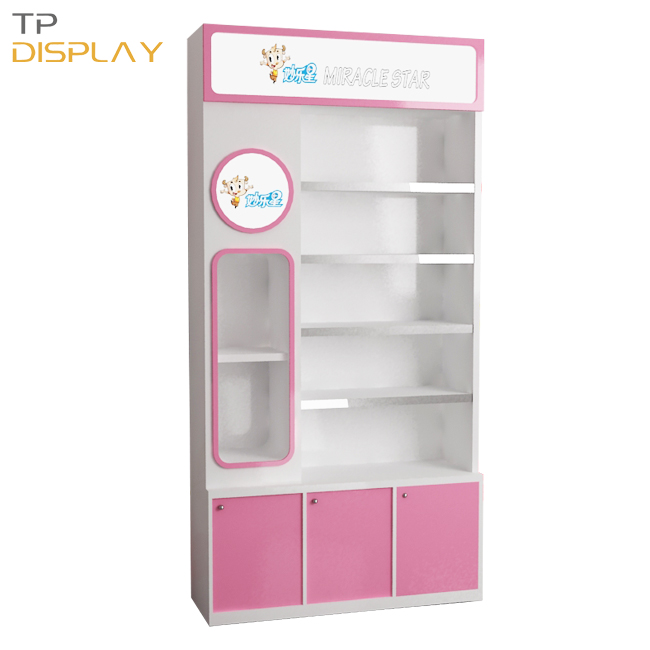 TP-BB001 hot sale wood display cabine for baby shop
