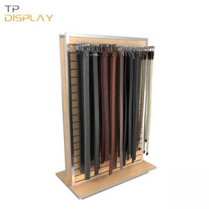 TP-CL002 leather belt display stand
