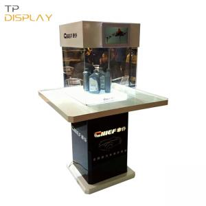 TP-CA005 glass display showcase for trade show