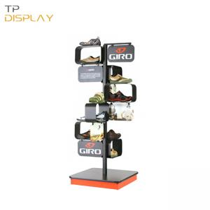 TP-CL003 shoe store display racks