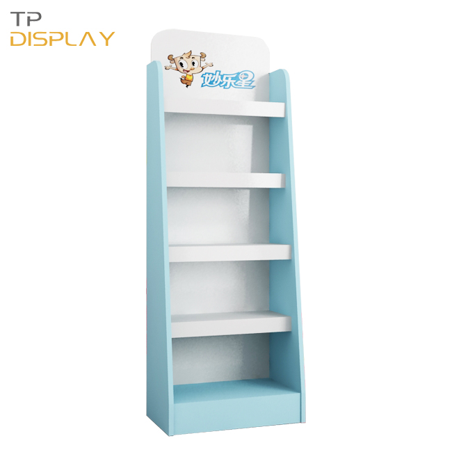 TP-BB004 retail shop wooden display stand