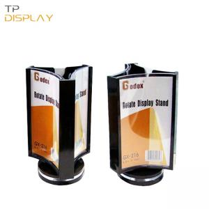 TP-CD004 acrylic rotating display stand