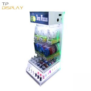 TP-ED005 advertising cell phone accessory display rack