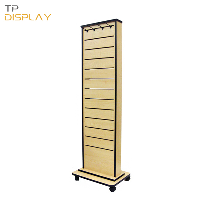 TP-WCL061 slatwall display stand for shop