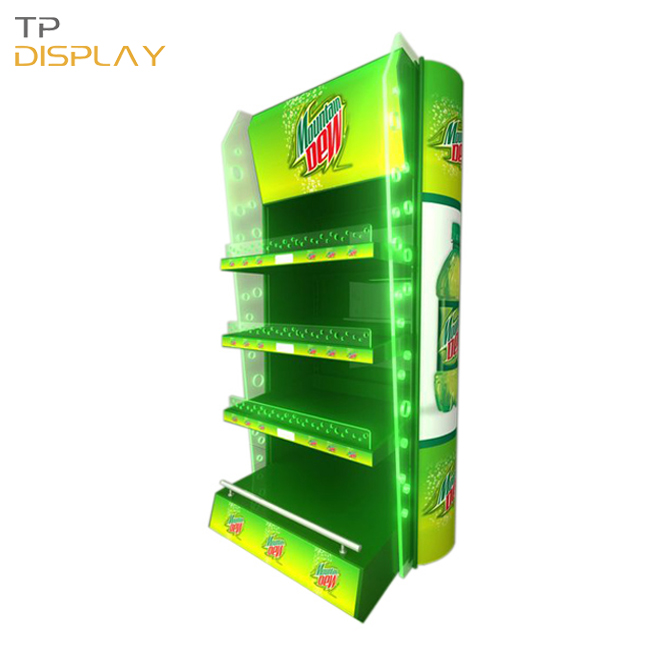 TP-FB005 eye catching convenience store display racks