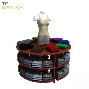 TP-CL007 clothing display rack for boutique