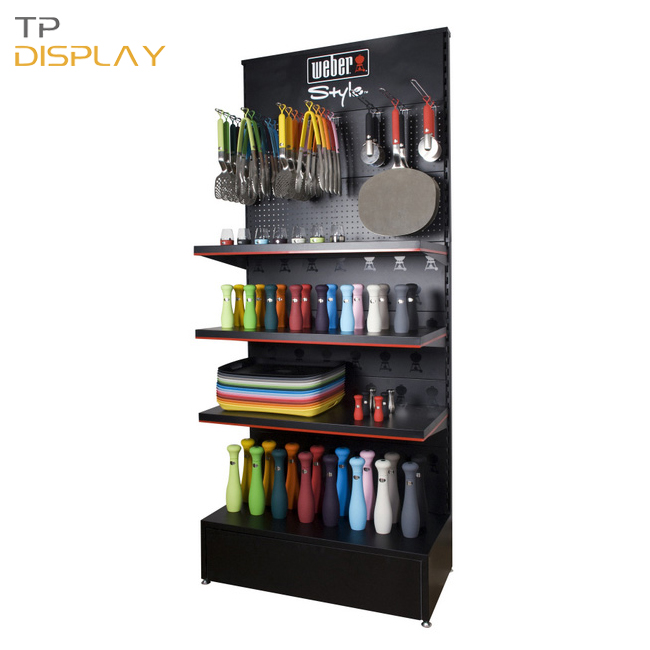 TP-CT008 display shelves for retail stores