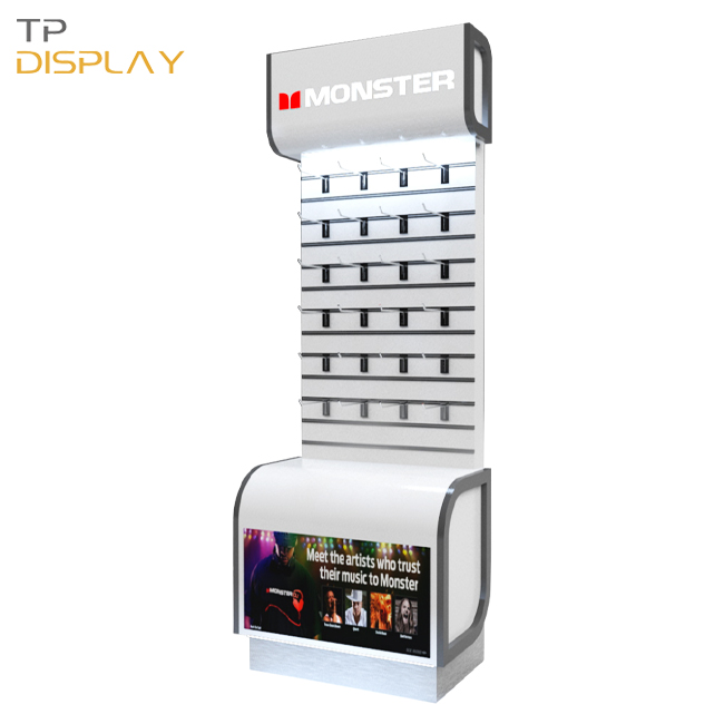 TP-ED010 mdf display stand for electronic products