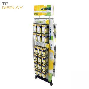 TP-ED011 metal display stand for electrical switch
