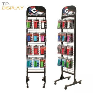 TP-ED012 floor display stand for mobile accessories
