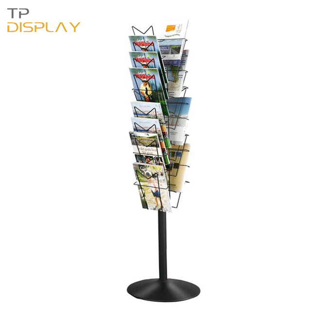 TP-BC012 metal material newspaper rack display